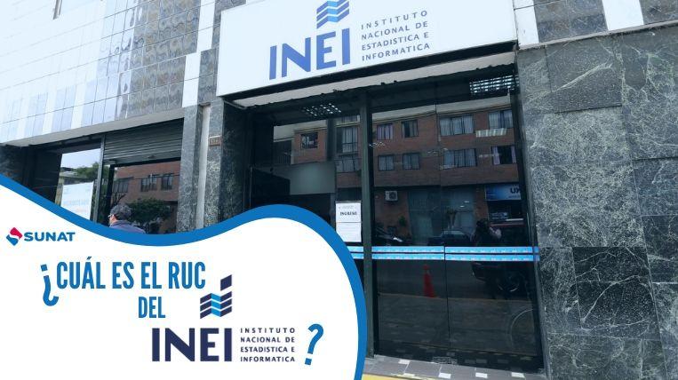 cual es el ruc del INEI